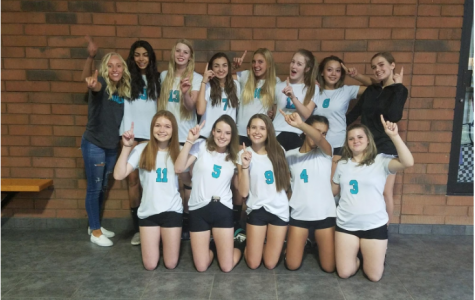 First Undefeated Girls Volleyball Team in Highland History