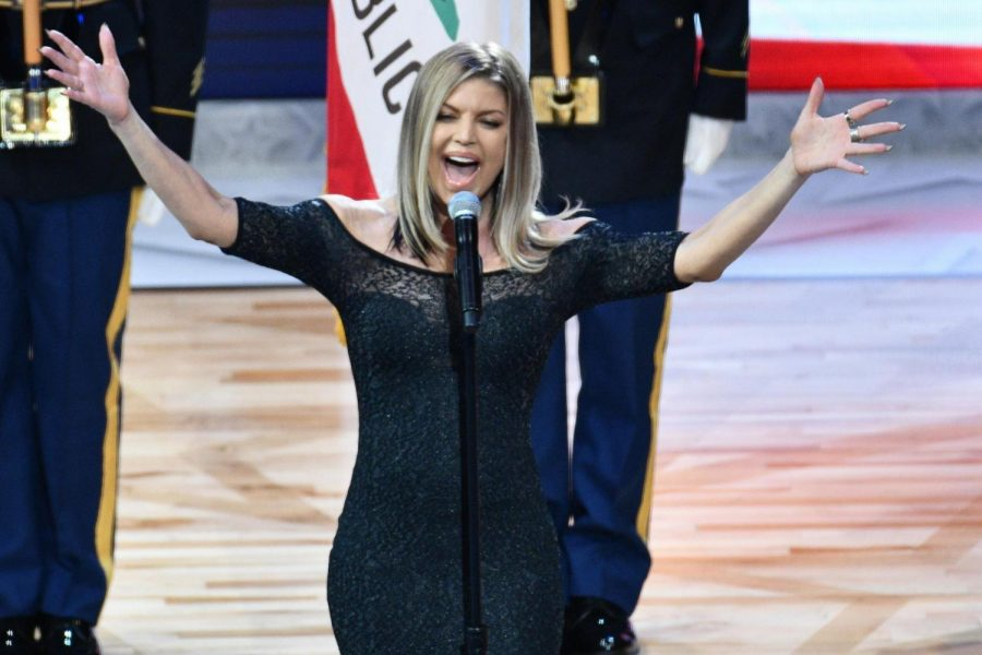 Fergie's Performance at the All Star Game