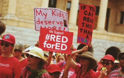 Red 4 Ed Movement Marches for Change