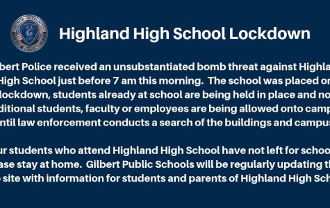 Highland High Lockdown