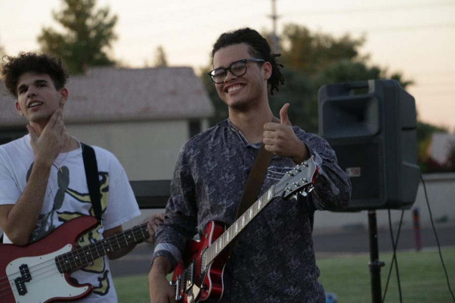Isaiah Baudanza (12) smiles for a picture at the LAC Festival