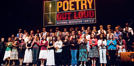 """""""The 2006 State Champions of the Poetry Out Loud National Recitation Contest"""" / James Kegley / Public Domain"""